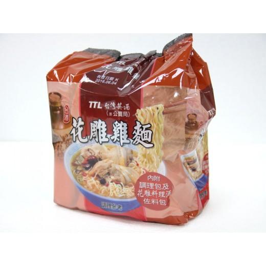 台酒花雕雞麵  (200g*3入/袋)*4入/箱