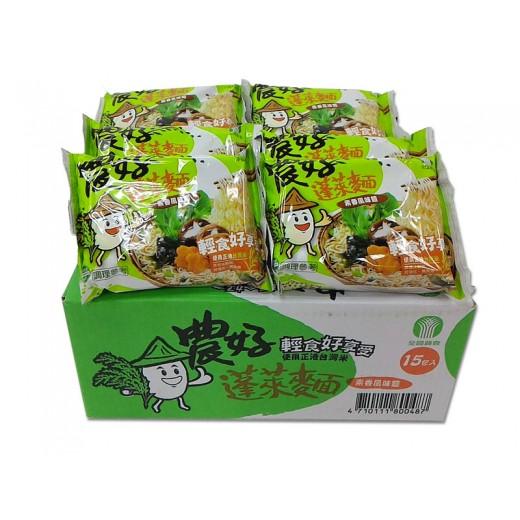 農好素香蓬萊麵(15包/箱)