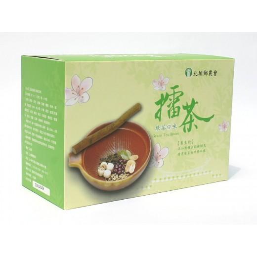 北埔鄉農會綠茶擂茶 (37.5g x16 入/盒)