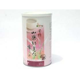 田野仕有機山藥紅薏仁雪花片 (300g/罐)