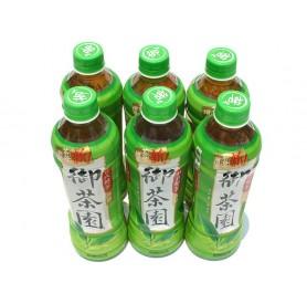 御茶園日式無糖綠茶 (500ml x24瓶/箱)