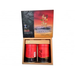 魚池鄉農會台茶18號(紅玉)禮盒 (75g x2罐/盒)