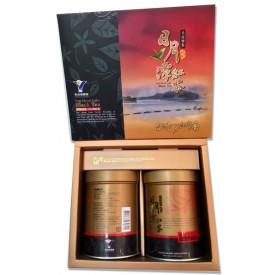魚池鄉農會阿薩姆紅茶禮盒 (75g x2罐/盒)