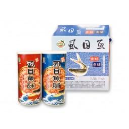 台南市農會虱目魚酥+虱目魚脯禮盒 (300g*2罐/盒)