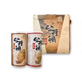 台南市農會鯛魚鬆+鯛魚脯禮盒 (300g*2罐/盒)
