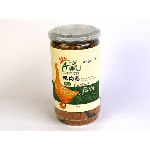 下營區農會海苔鵝肉鬆 (250g/罐)