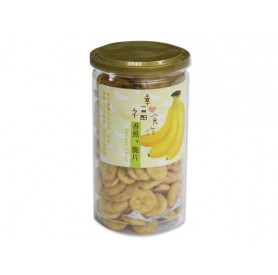 中寮鄉農會香蕉脆片 230g/罐