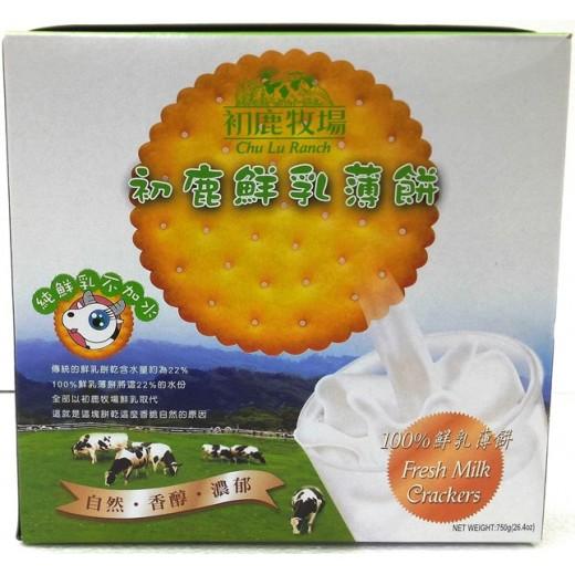 初鹿鮮乳薄餅禮盒 250g*3條/盒