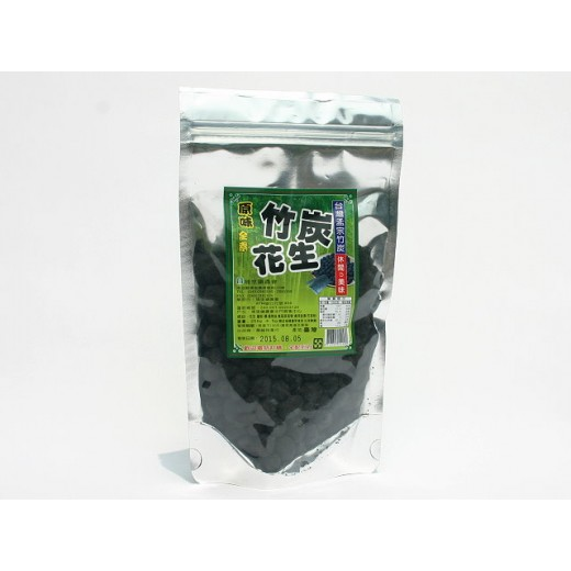 埔里鎮農會竹炭花生 (250g/包)