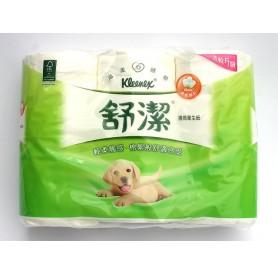 舒潔捲筒衛生紙 (280組 x6捲/串)