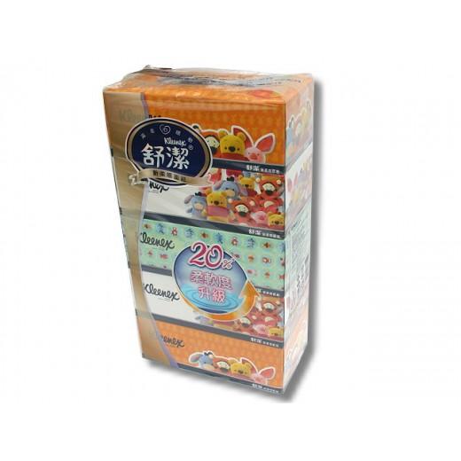 舒潔新柔感面紙 (140抽 x5盒/串)