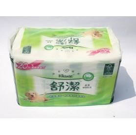 舒潔優質抽取衛生紙 (90抽 x8包/串)
