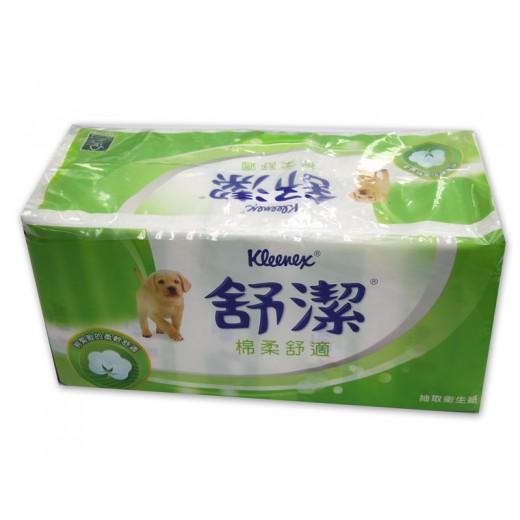 舒潔棉柔舒適抽取衛生紙 (120抽*10包/串)