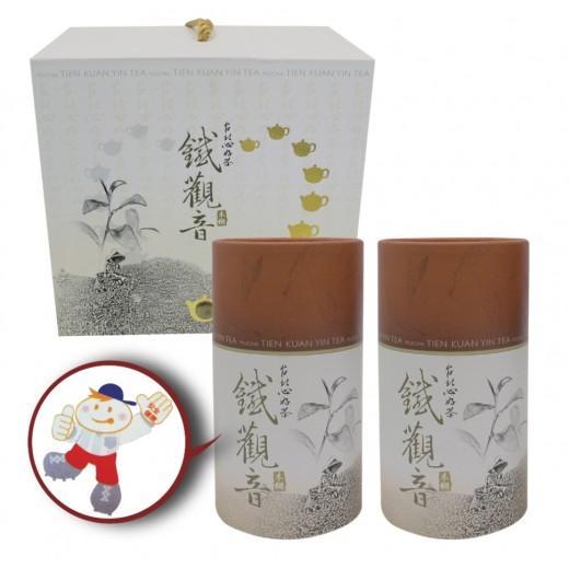 木柵高級鐵觀音茶禮盒 (300g x2罐/盒)