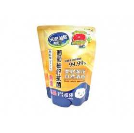 南僑水晶肥皂抗菌洗衣用液體補充包 (1600g/包)