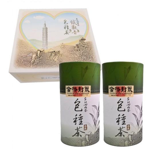 南港包種茶禮盒 (75g x2罐/盒)