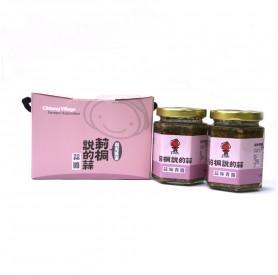 莿桐鄉農會蒜味青醬禮盒160g*2 入/盒