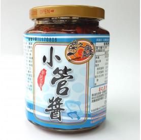 菊之鱻小管醬450g 小辣