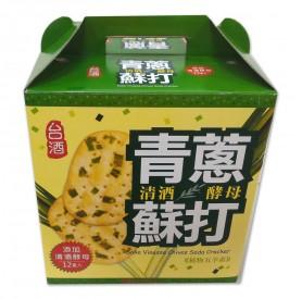 台酒清酒酵母青蔥蘇打/箱 (120g*12盒/箱)