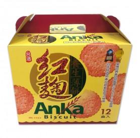 台酒紅麴養生薄餅/箱 (120g*12盒/箱)