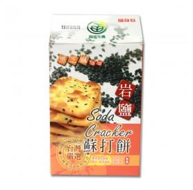 陽光生機黑芝麻岩鹽蘇打餅18g*12包/盒