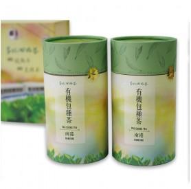 台北心好茶南港有機包種茶禮盒75g*2罐